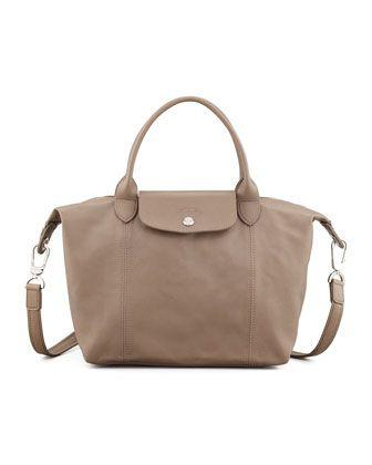 cfea773d0a9a Le Pliage Cuir Small Handbag with Strap