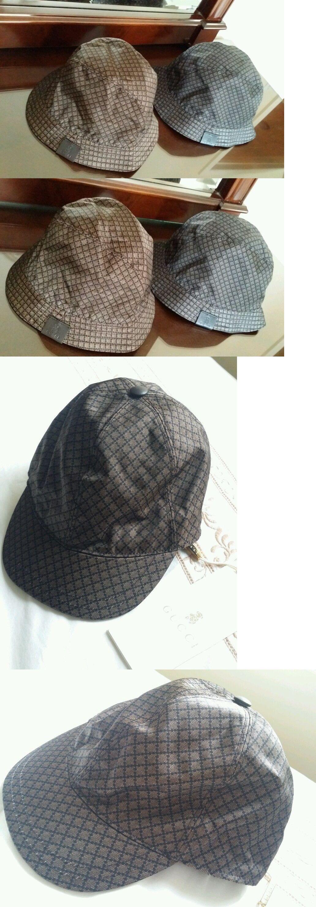 Hats 57884  Nwt New Gucci Junior Kids Boys Diamante Shiny Blue Black Or  Brown Fedora ab3142747d4