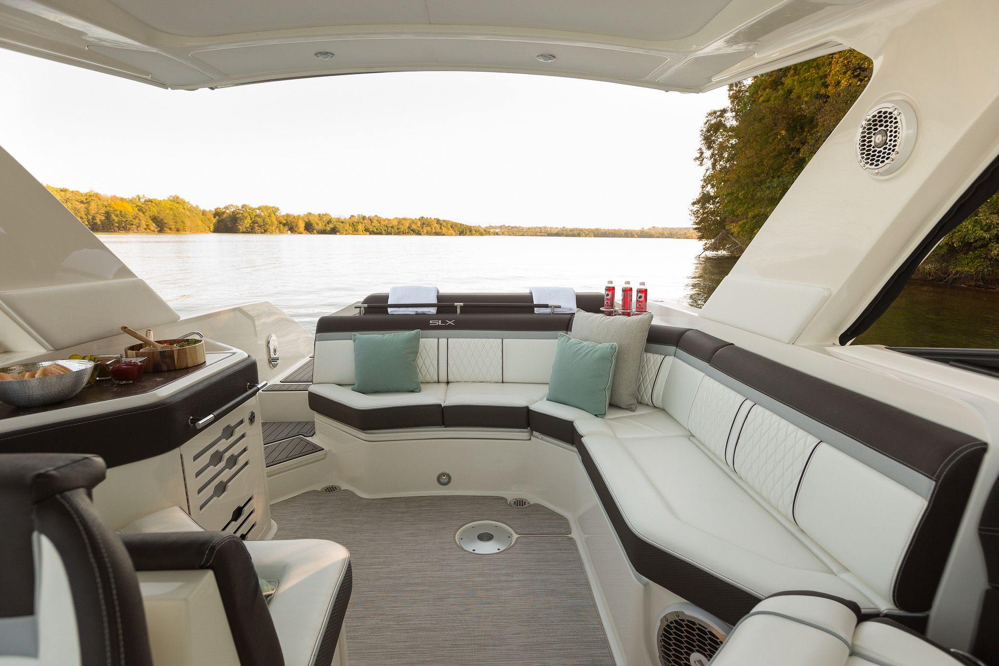 Sand Upholstery Searay Boat Dreams Upholstery Colorful