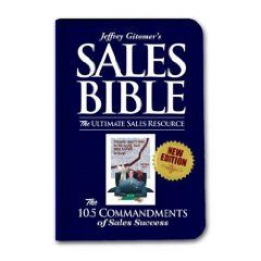 The Sales Bible: The Ultimate Sales Resource. Jeffrey Gitomer. $19.79