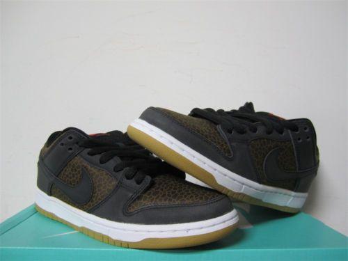 new products 53ceb 2c751 Nike SB Dunk Low Premium Black White Giraffe Gum