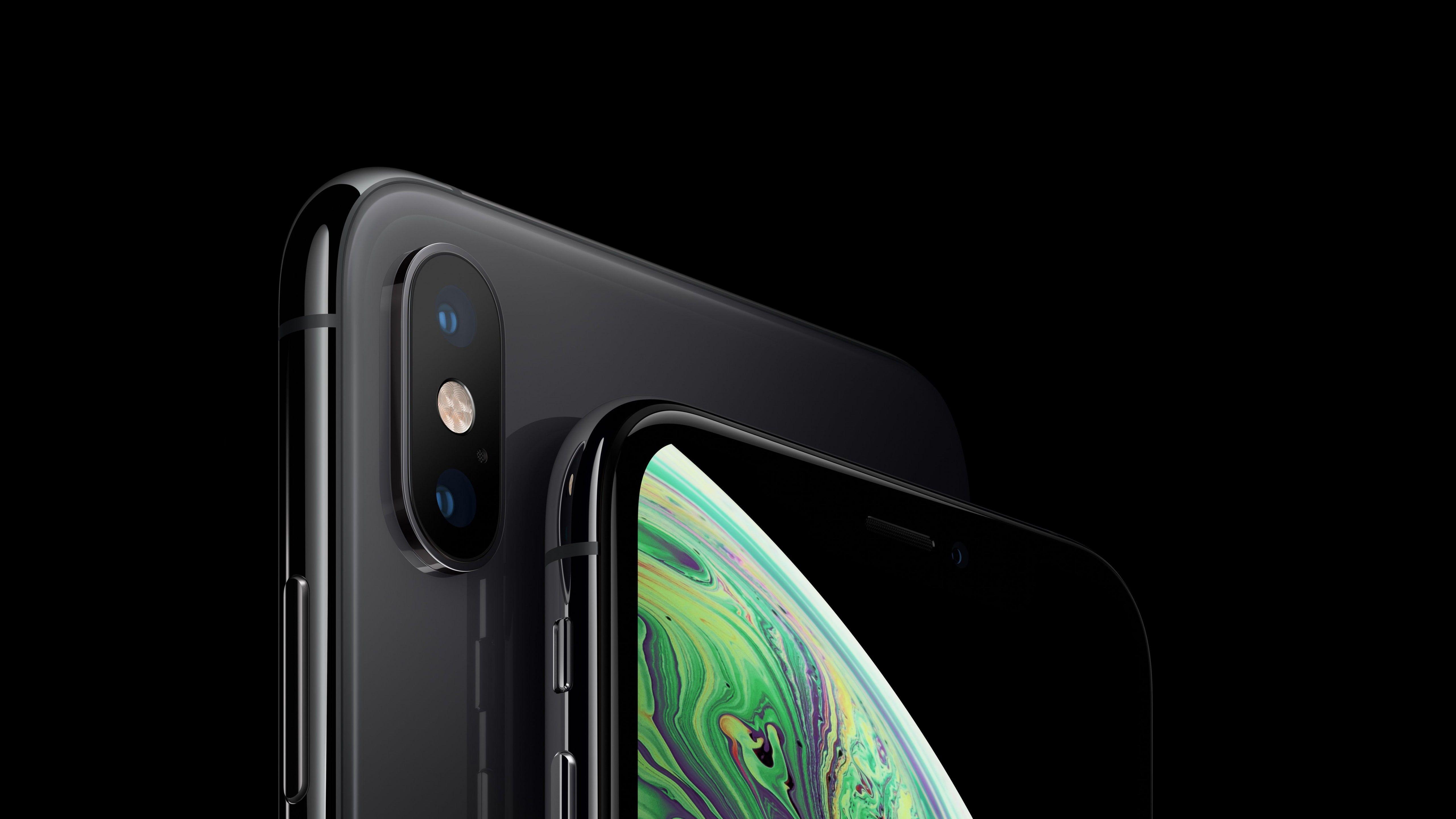 Iphone Xs Iphone Xs Max Space Gray Smartphone 5k Apple September 2018 Event 5k Wallpaper Hdwallpaper Deskt Apple Iphone Iphone Xs Max Iphone 6s Rose Gold