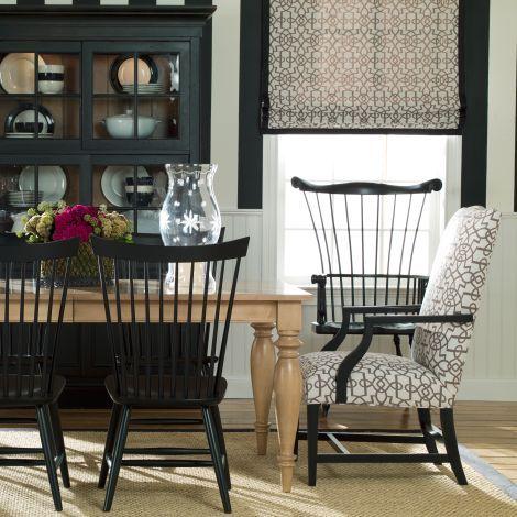 American Artisan Fanback Side Chair