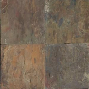 Ms International Rustique Earth 12 In X 12 In Gauged Slate Floor And Wall Tile 10 Sq Ft Case