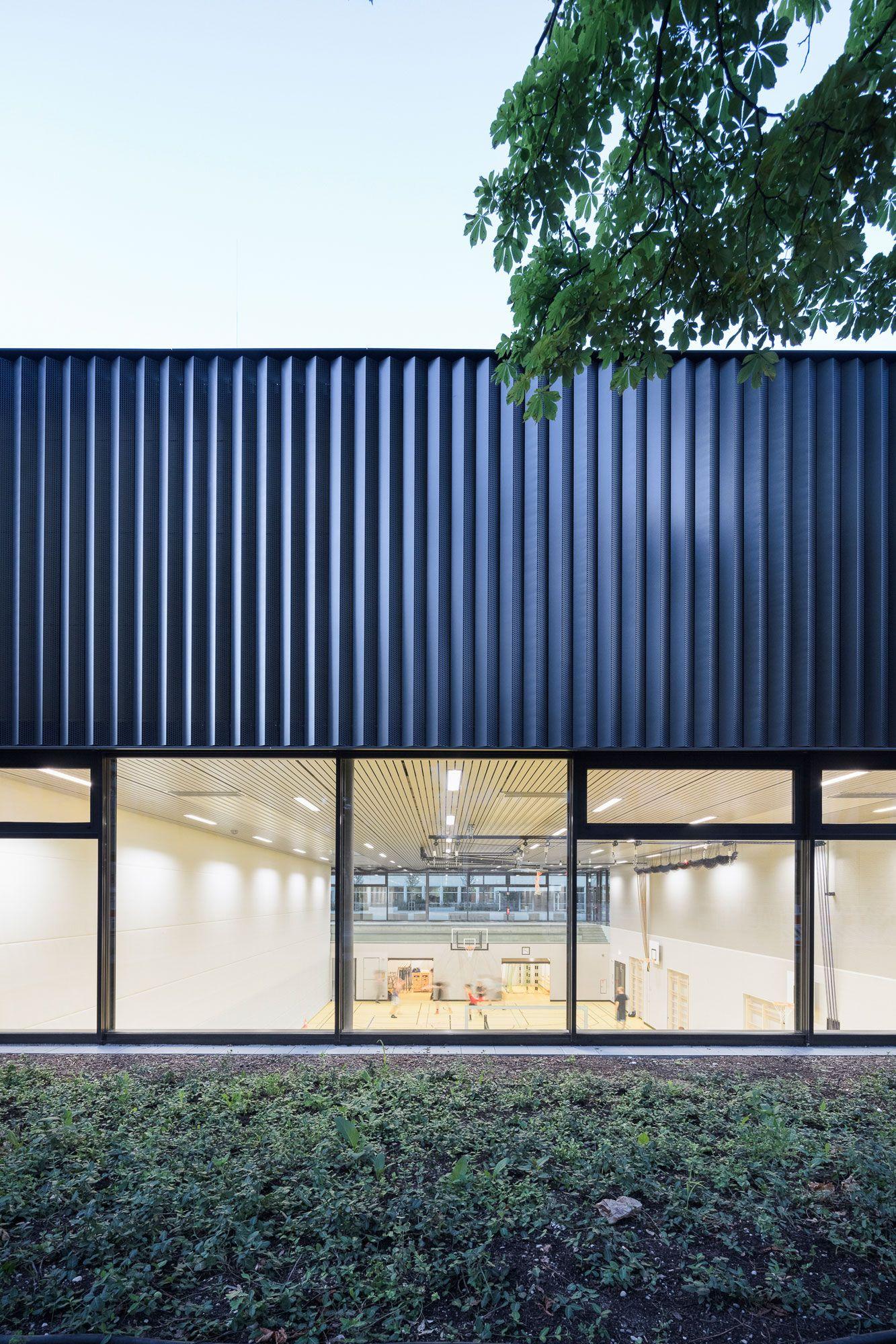 Multifunktion Versteckt Sporthalle Von Auer Weber In 2020 Auer