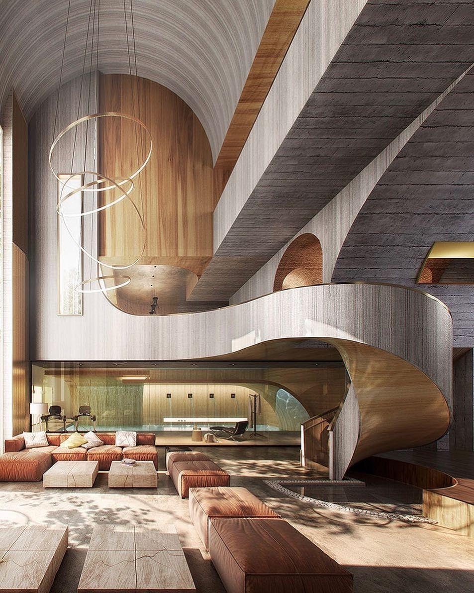 Amazing Architecture On Instagram Residential Interior Rendering