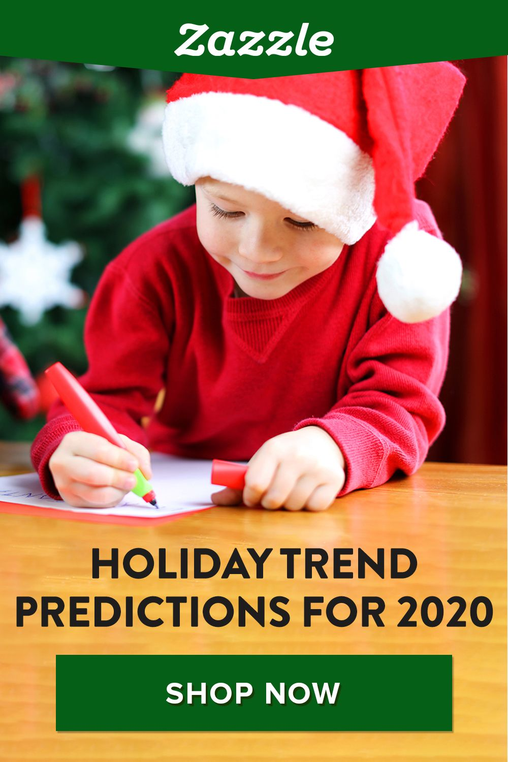 Will we still exchange gifts? Will homes still be decorated with lights and nativity scenes? We're here to answer all those questions and more, with our holiday trend predictions and Christmas gift ideas for 2020. Shop Zazzle for holiday cards, gifts, decor and more.