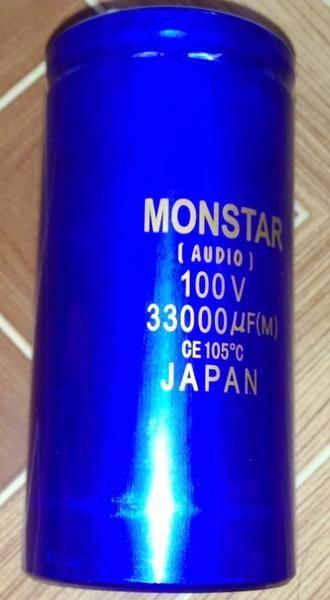 33.000uF 100V Elco Monstar
