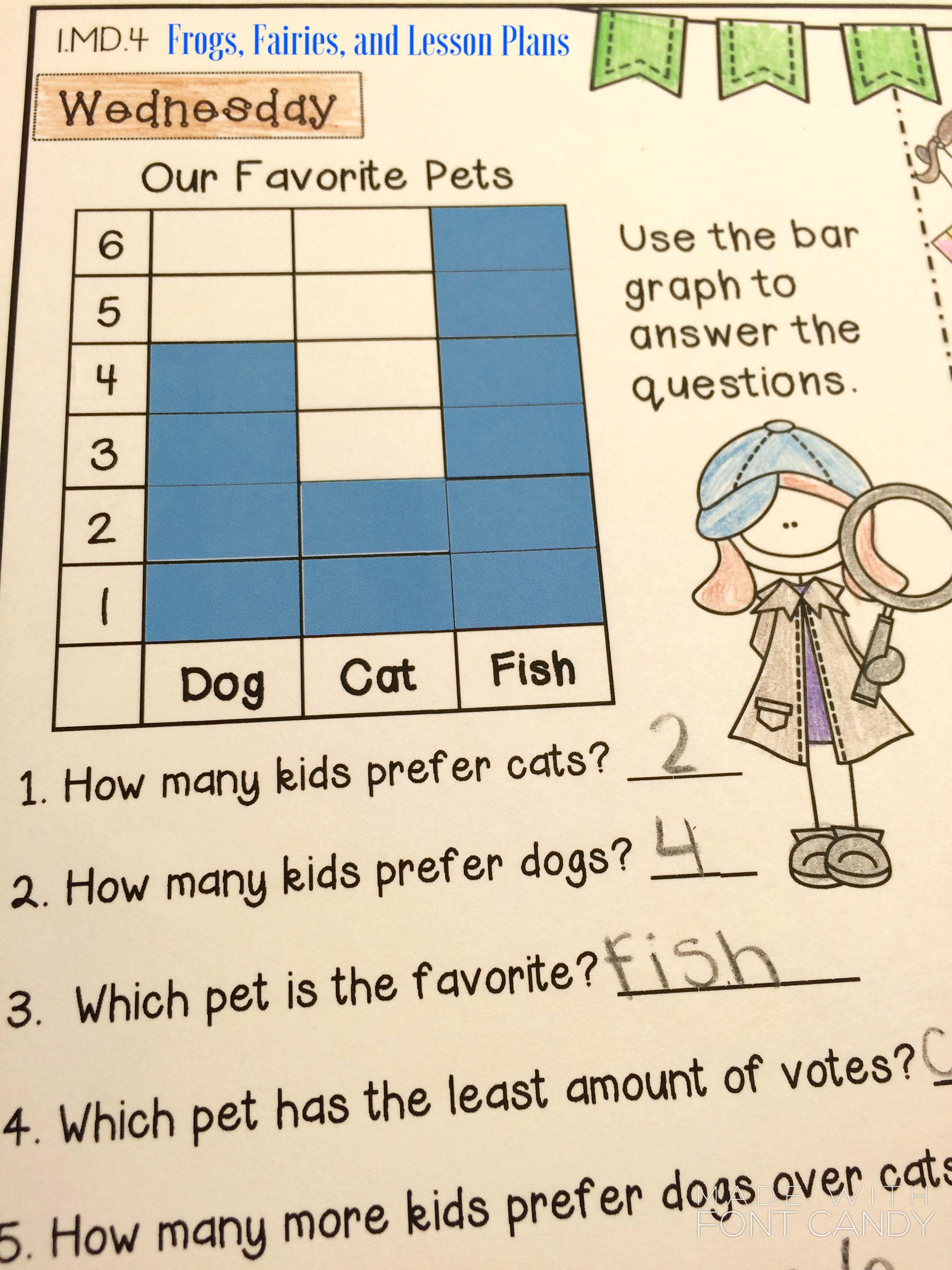 First Grade Math Homework - Entire Year | Best of First Grade ...