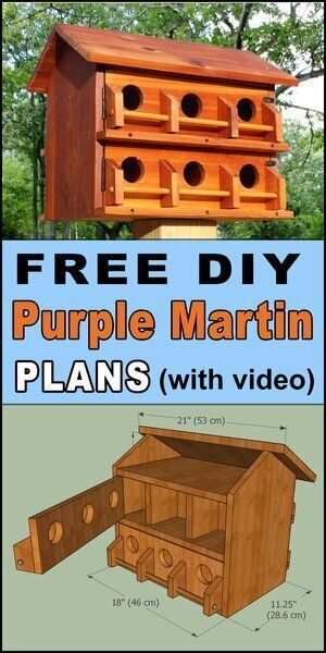 Bird House Hotel Plans Free Printable DIY Directions
