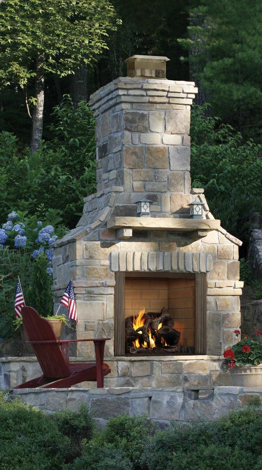 Outdoor Fireplaces And Fire Pits Atlanta Home Improvement