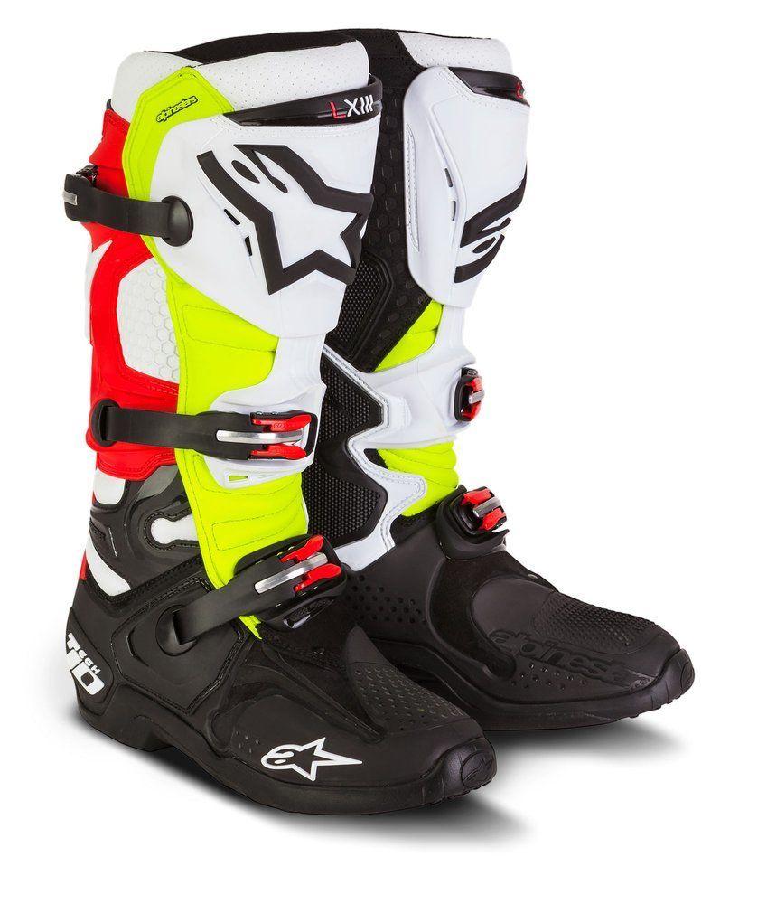 8ba67f055e33da Alpinestars Men s Special Edition Tech 10 Trey Canard MX Offroad Boots