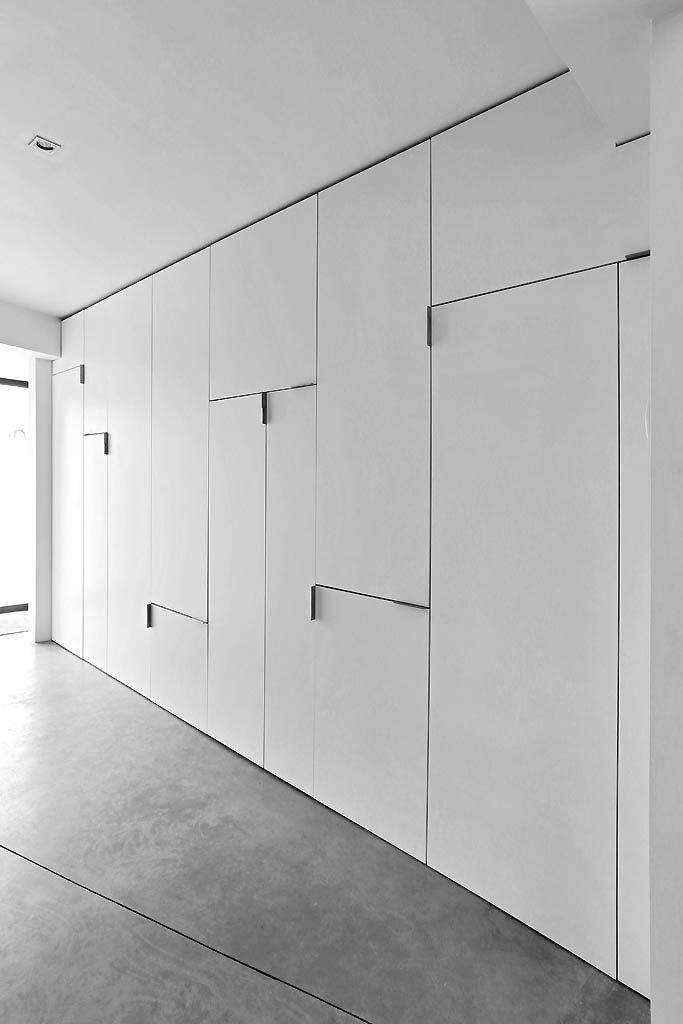 Yves deneyer menuiserie bois closets id es de placard placard int gr placard mural - Rangement placard mural ...