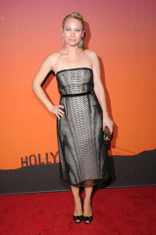 Fabulously Spotted: Vera Farmiga Wearing Calvin Klein