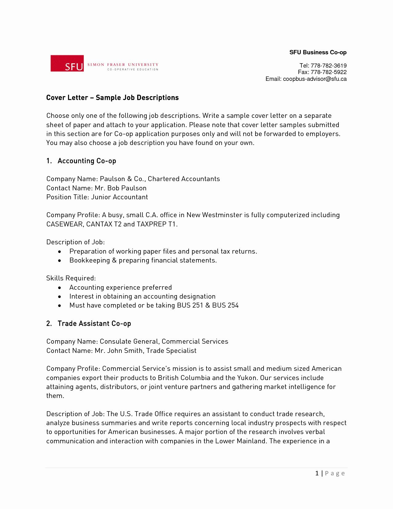 27 Audit Cover Letter  Resume Cover Letter Example  Job
