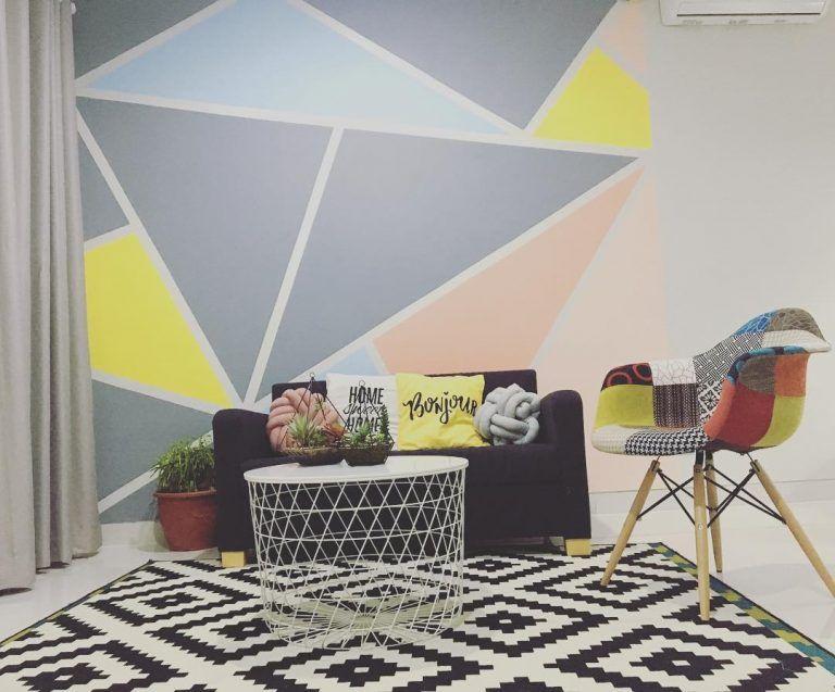 Warna Cat Ruang Tamu Kecil Minimalis Cat Ruang Tamu Desain Ruang Tamu Ruang Keluarga Minimalis