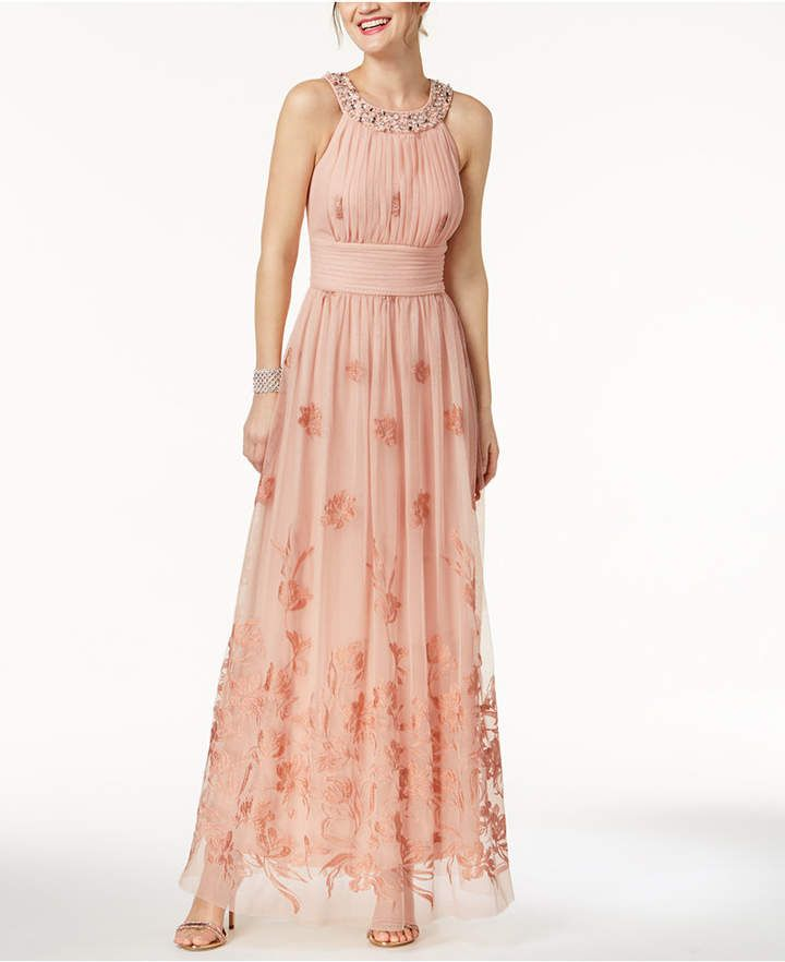 0265c0a9233 Beaded Embroidered Gown  Jessica Howard featuring