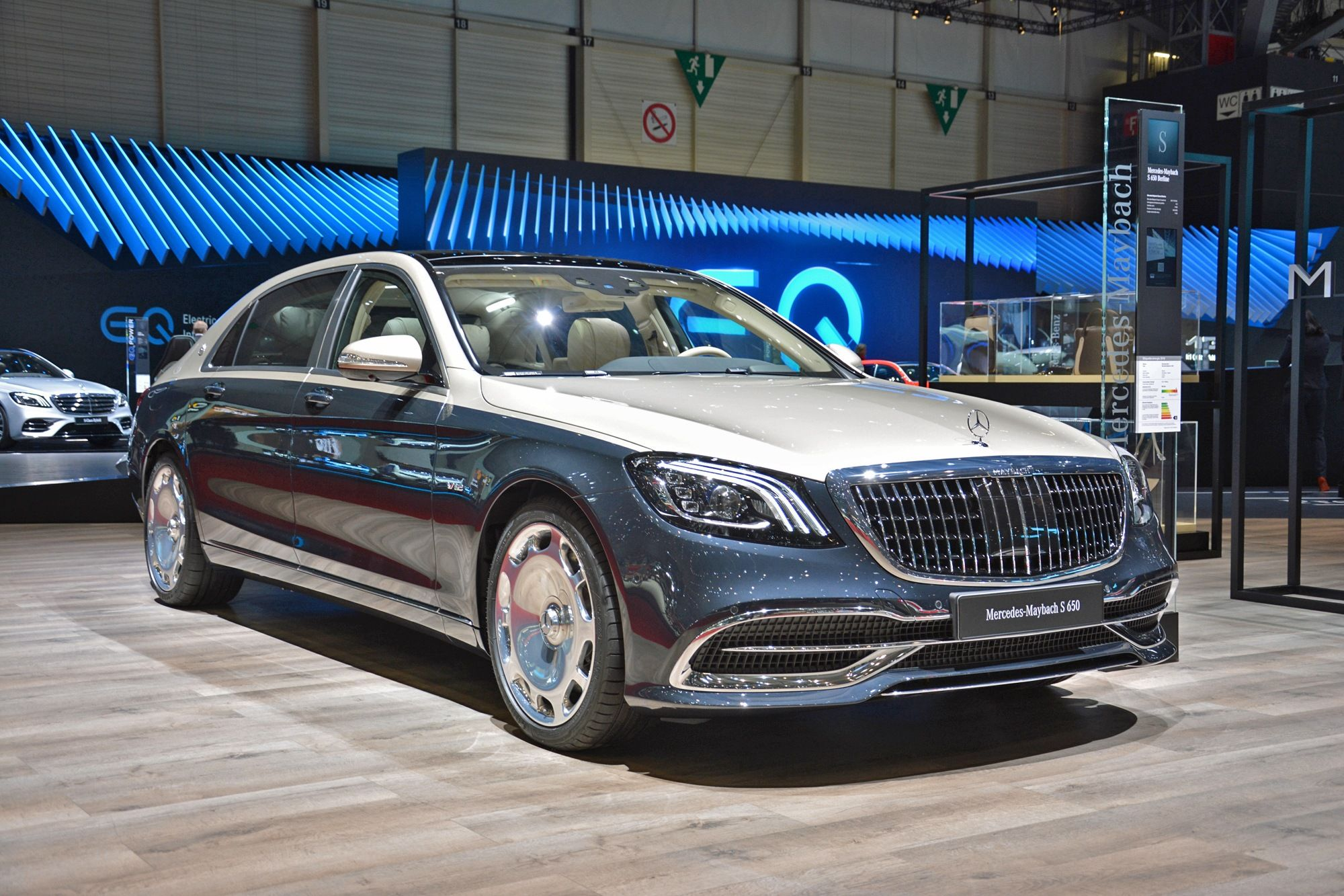 Geneva Live 2019 Mercedes Maybach S Class With Images