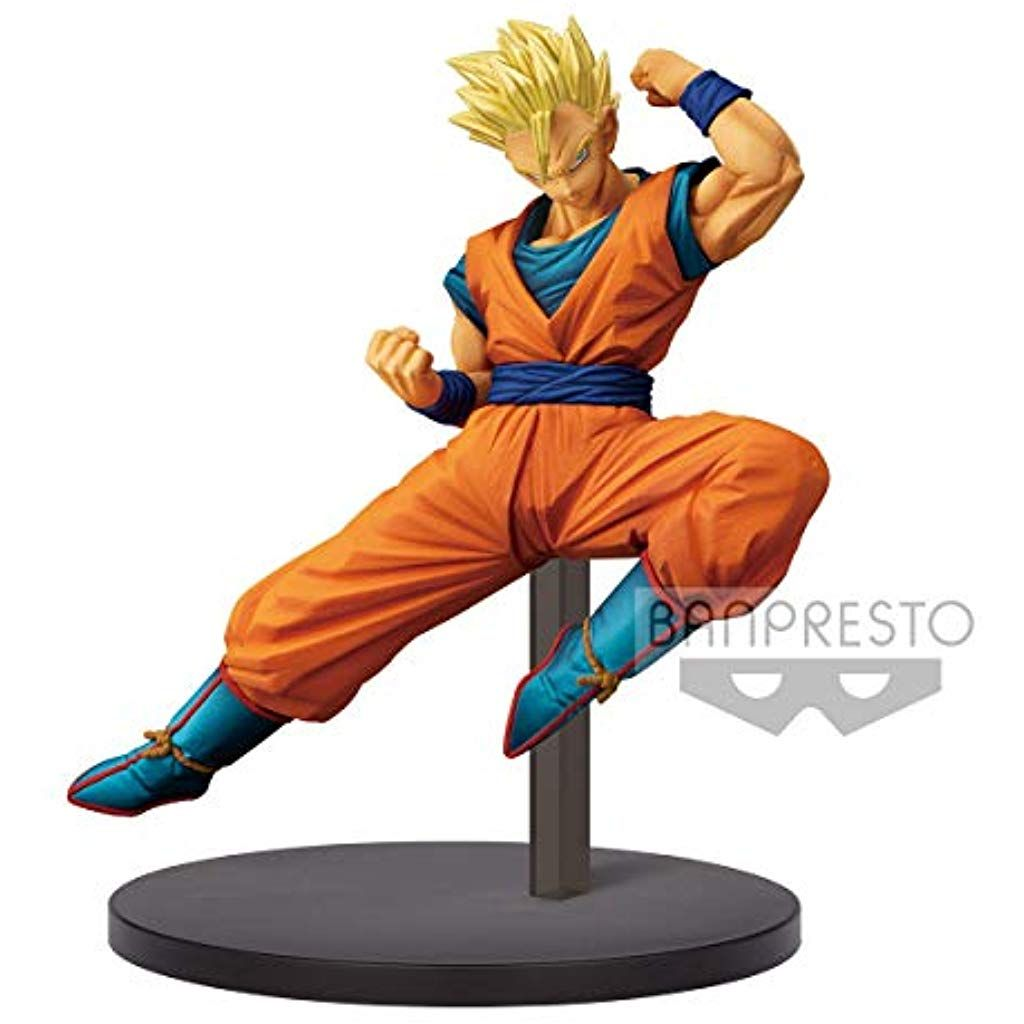 Dragon Ball Son Goku Super Saiyan 3 Chosenshiretsuden Vol Banpresto 4 Figure