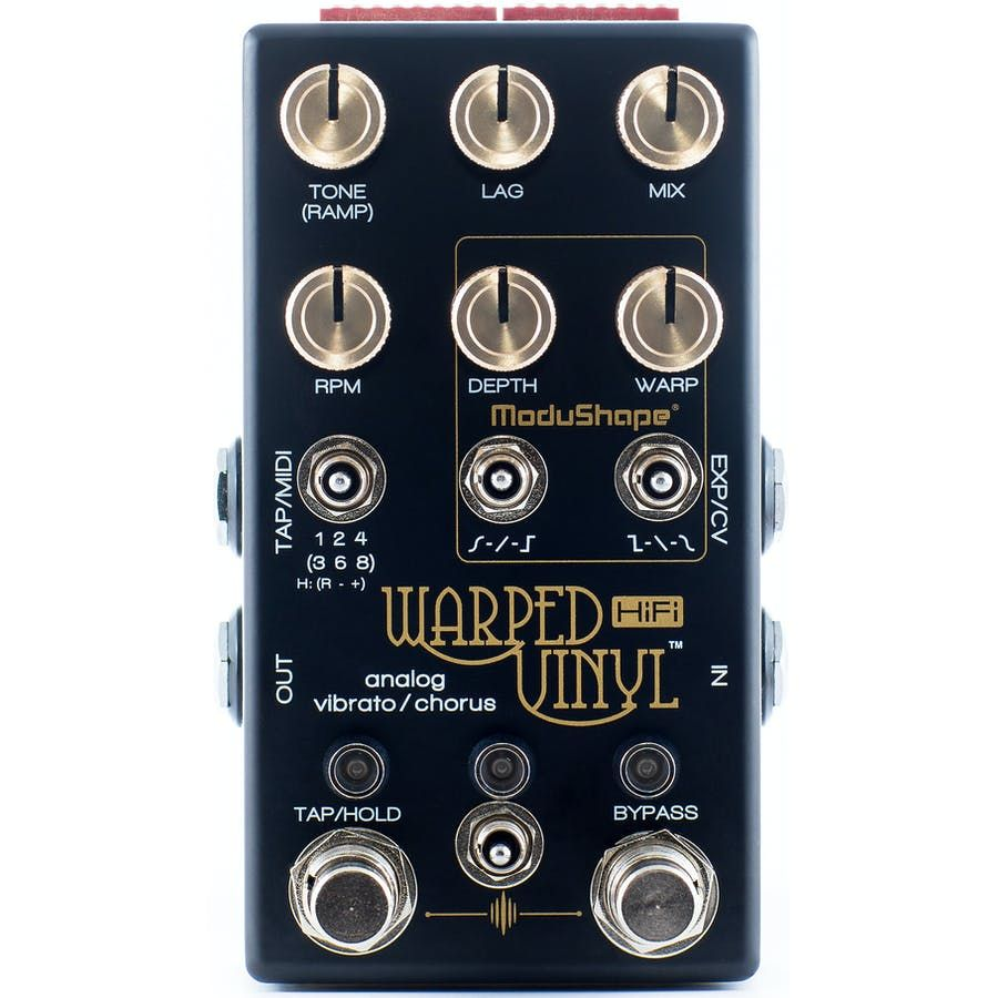 Chase Bliss Warped Vinyl Hifi Analog Vibrato Chorus Andertons Music Co Chorus Guitar Pedals Audio