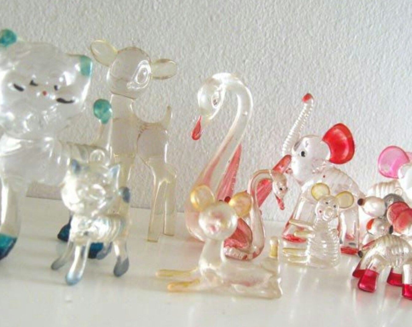 Glass animal ornaments - Glass Animal Ornaments