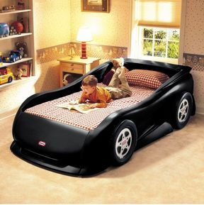 I Need This Toddler Bed For My Boy And A White Corvette Bed For My