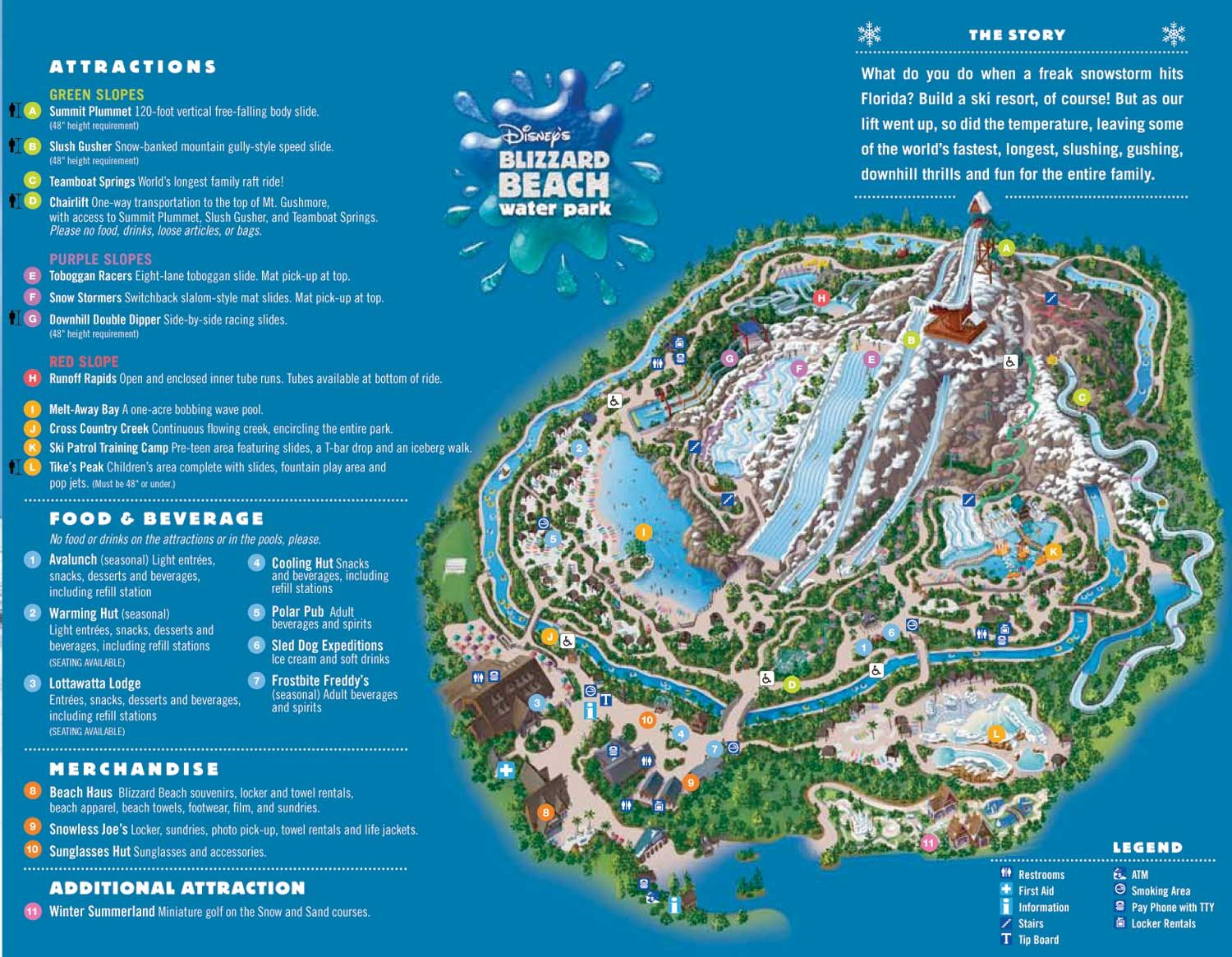 holiday park florida map