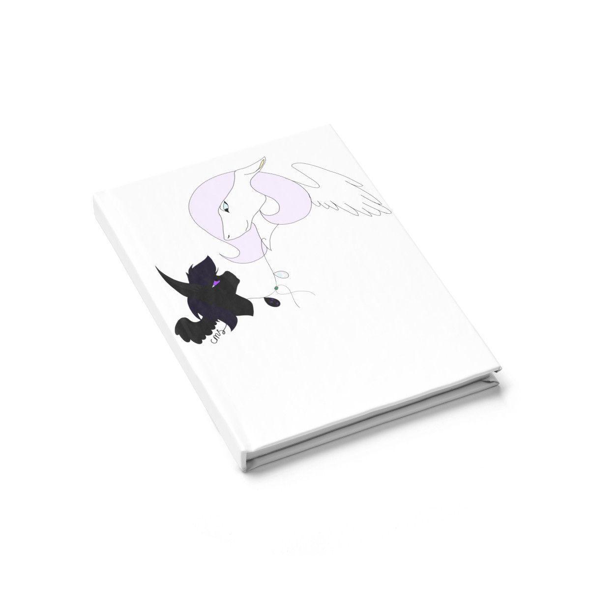 Opal Aura by Caeleigh- Blank Book, lined