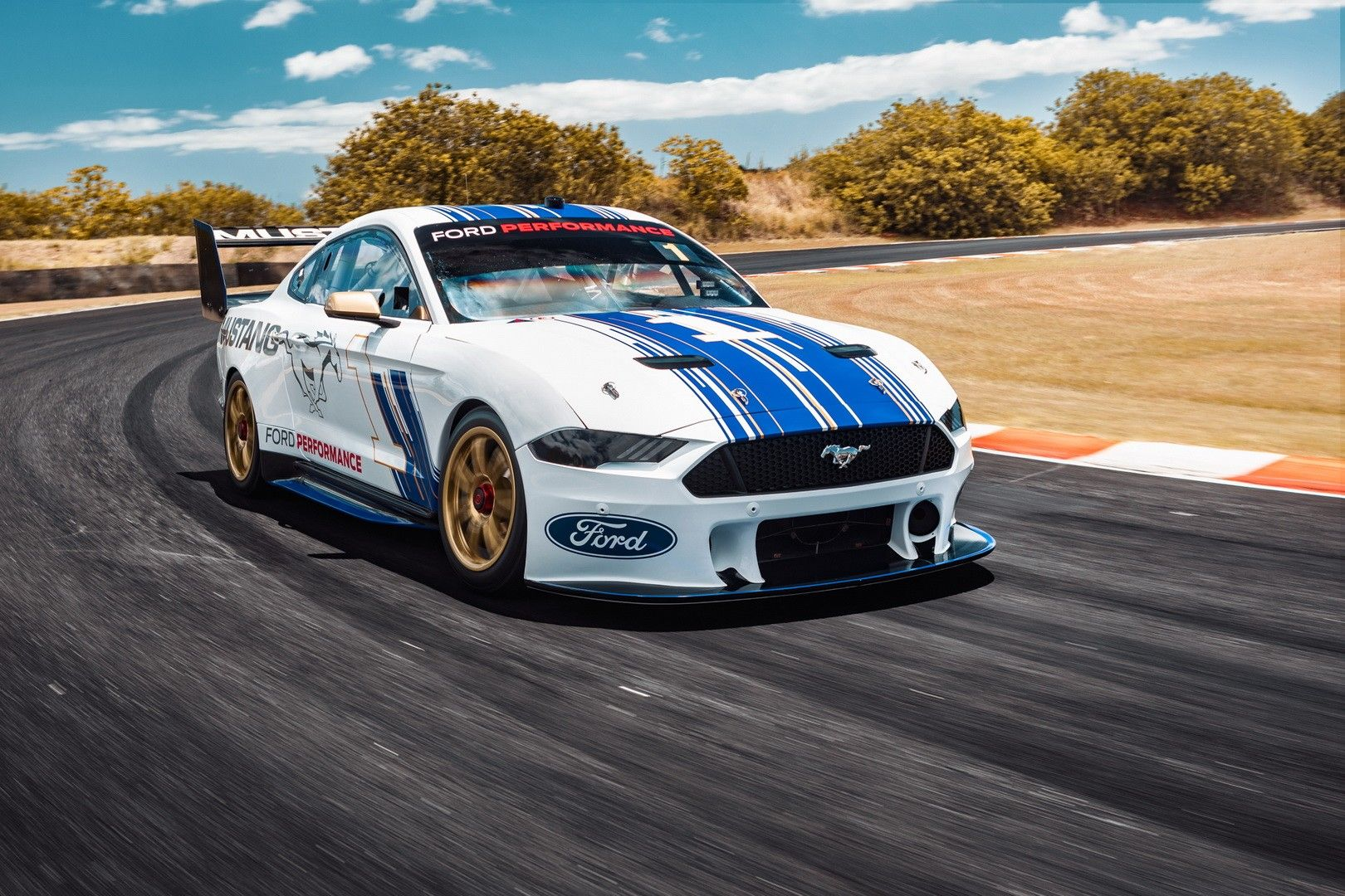 Ford Mustang Racer Revealed Ahead Of The 2019 Australia Supercars Championship Ford Mustang Australia Ford Mustang Super Cars