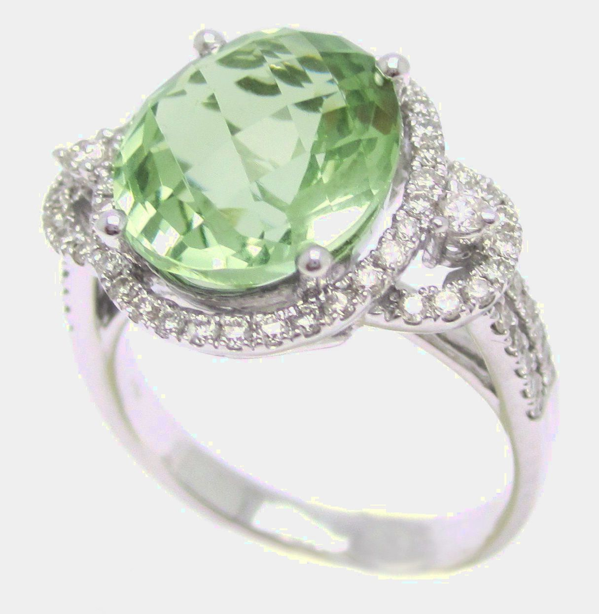 ct light si green shape tw vs carat fancy cushion clarity diamond ring
