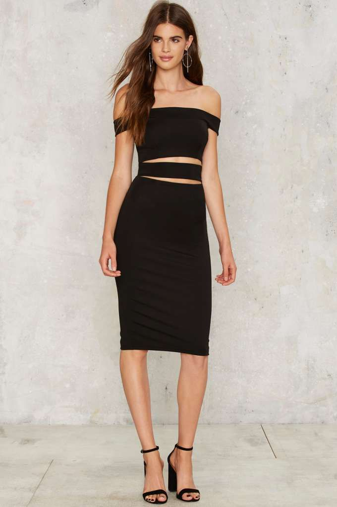 Making the Cut-Out Dress - Clothes | The All-Nighters | Best Sellers | Going Out | Midi + Maxi | Bodycon | LBD