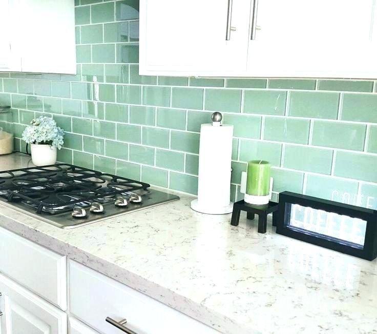 16 Wow-Worthy Green Kitchen Backsplash Ideas for Green Lovers #kitchenbacksplash