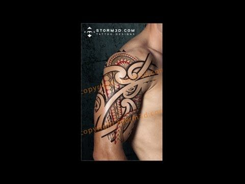 How To Place A Digital Tattoo Design On A Body Shoulder I