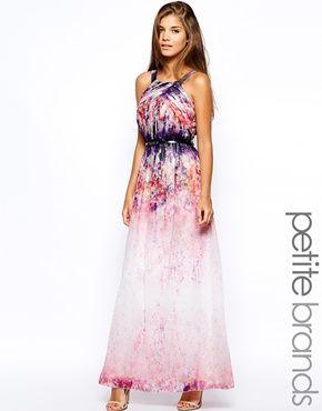 Summer Maxi Dresses for Petites
