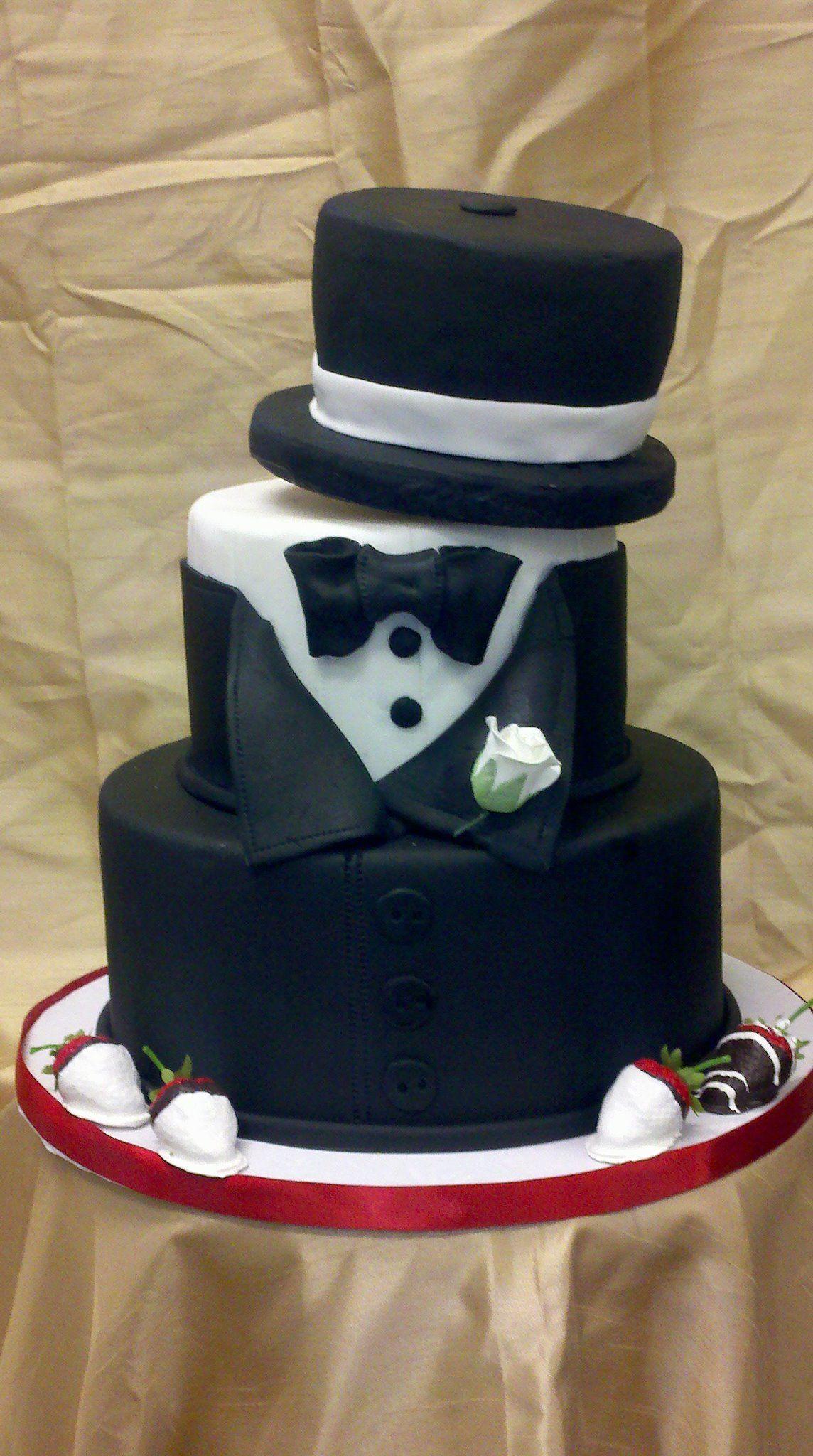 Tuxedo Top Hat Cake My Cakes Tuxedo Cake Adult