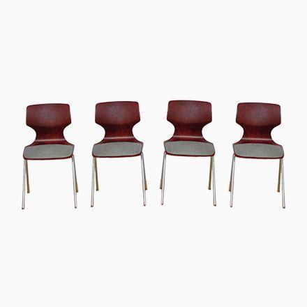 Stühle von Flötotto, 1960er, 4er Set Jetzt bestellen unter   - stühle für die küche