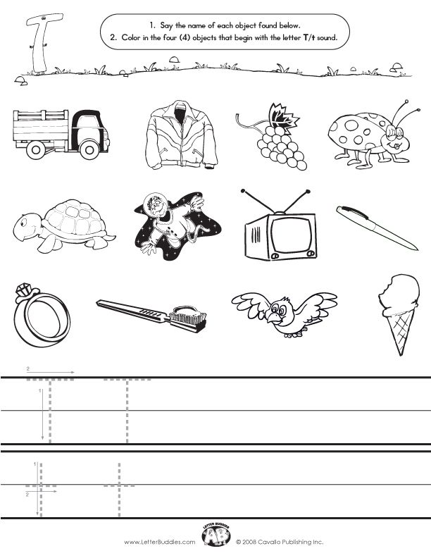 Worksheet For The Letter T Google Search Busy School Days