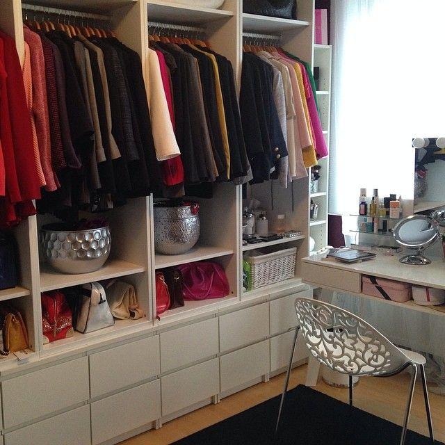 walkincloset ikea stuva und malm keep it in the closet pinterest malm master closet. Black Bedroom Furniture Sets. Home Design Ideas