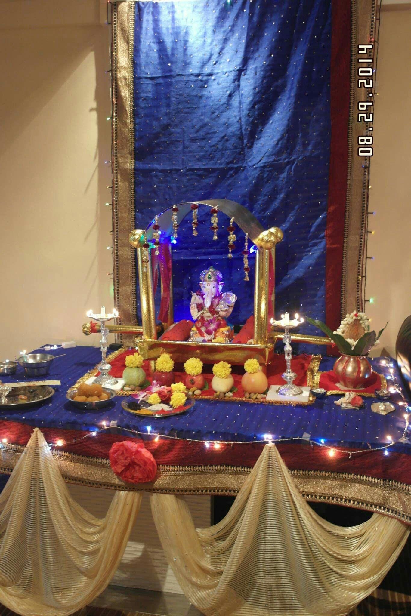 Ganapati Decoration Park Ganesha Deities Ganpati Bappa