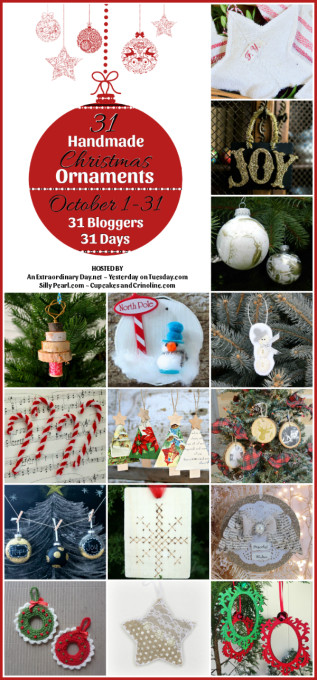 Get 15 ideas for Christmas Ornmaments that you can make!
