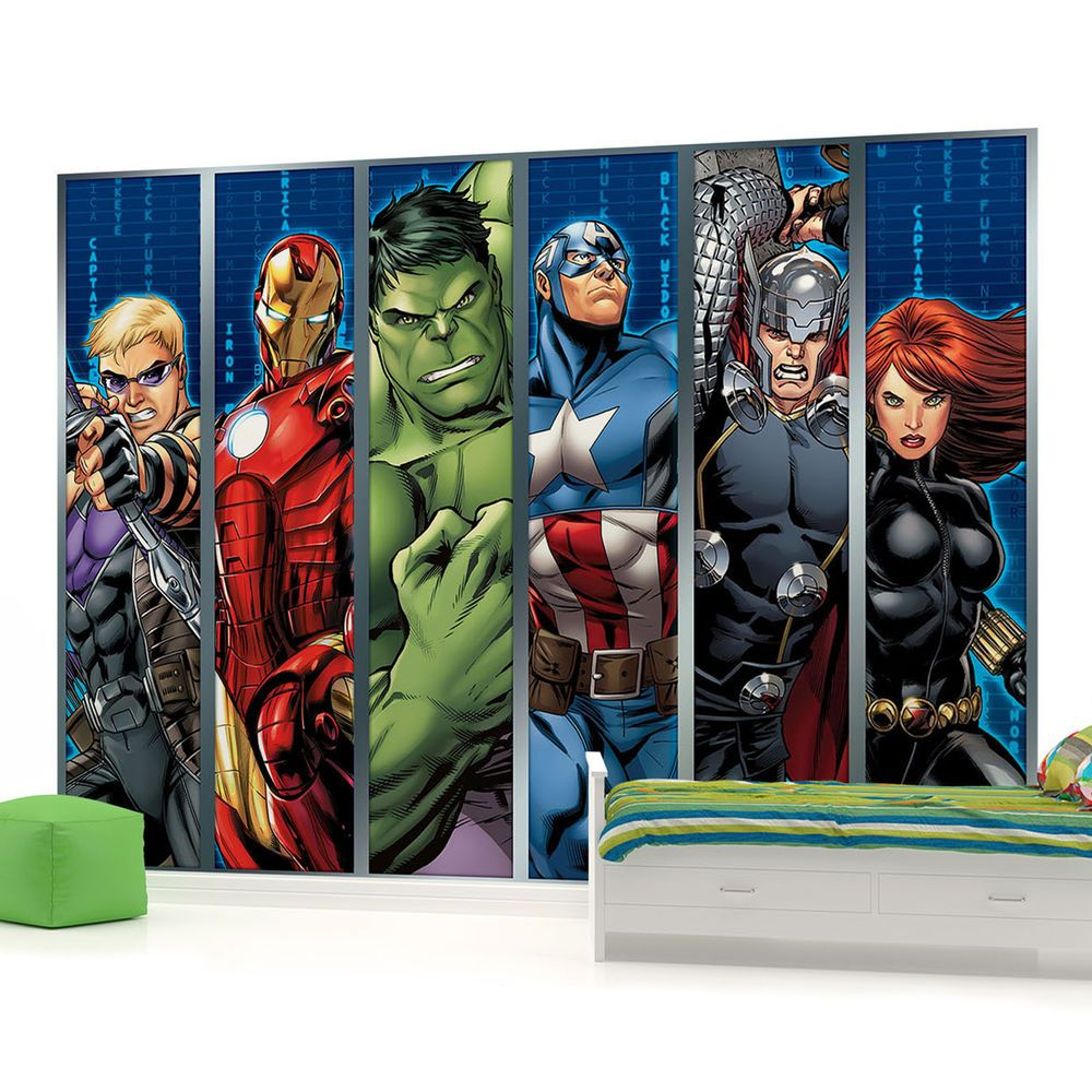 Best Disney Avengers Boys Bedroom Photo Wallpaper Wall Mural 400 x 300