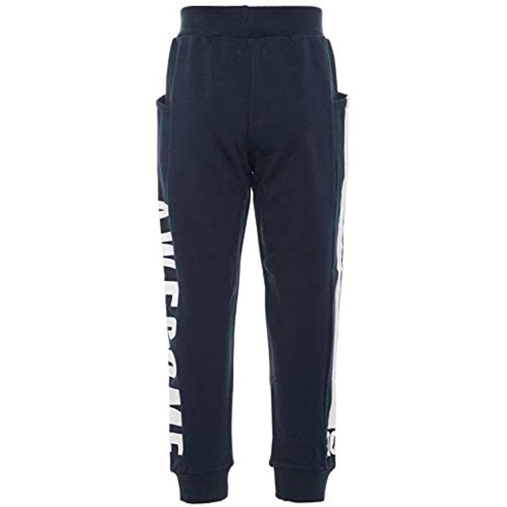 grande collezione caratteristiche eccezionali sconto Name It - Pantaloni Sportivi - Senza Fantasia - Ragazzo Dark ...