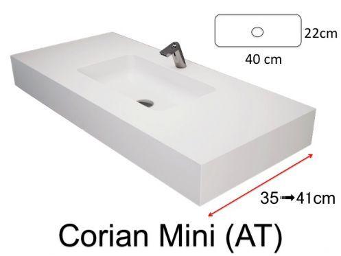 Vasque De Salle De Bains De Très Petite Taille, 50 X 35 Cm   Bari