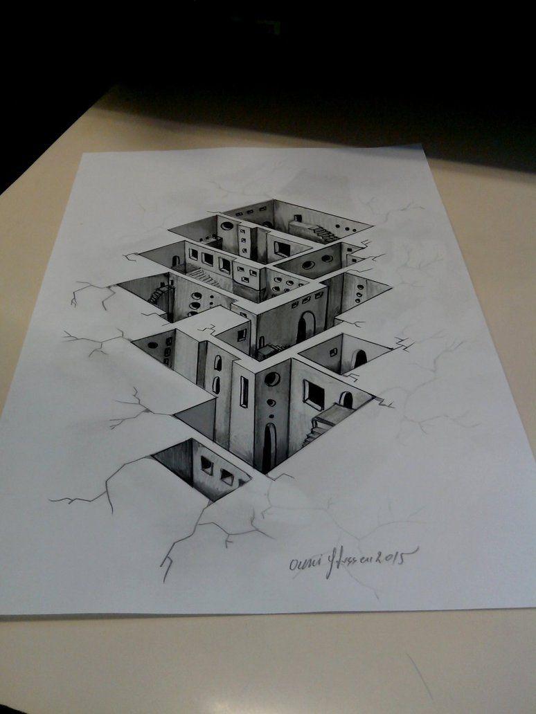 3D Underground City by ghassen-ouni on DeviantArt