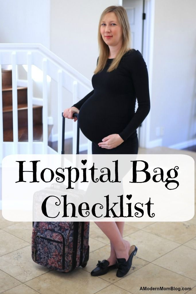 hospital bag checklist for labor and delivery or natural child birth. Everything you need to buy during the third trimester of pregnancy to prepare for the fourth the first 48 hours with a newborn #hospitalbag #childbirth #birthplan #birthstory #labor #3rdtrimester
