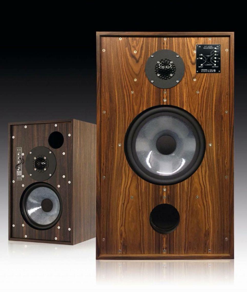 AUDIOPHILE MAN - HIFI NEWS: Graham Audio - LS5/8 Speakers