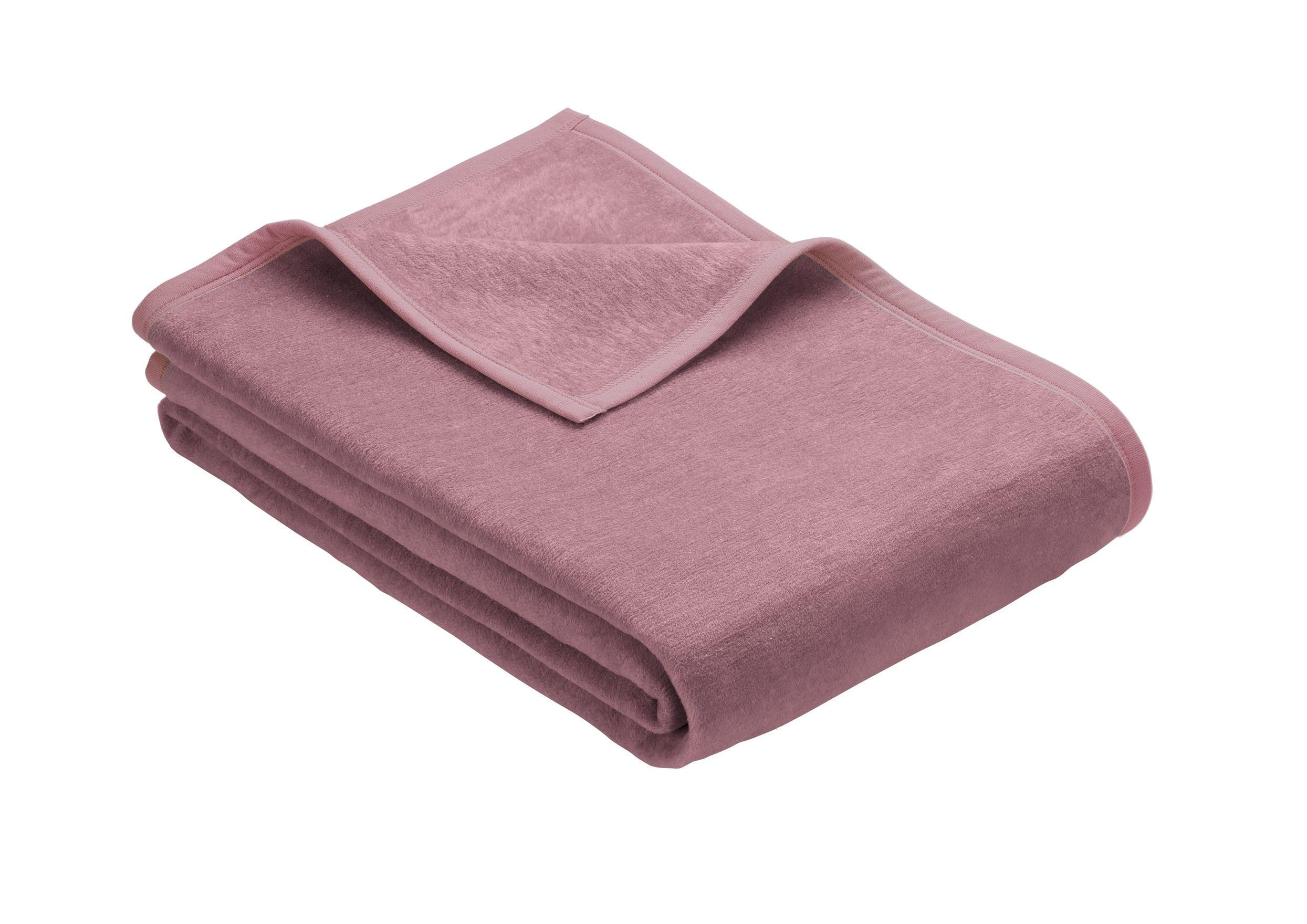Casea Selection Wohndecke In Der Farbe Rosa 150x200 Cm Wohndecke Kuscheldecke Schlafzimmertextilien