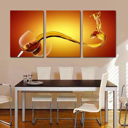 Resultado de imagen para cuadros modernos para comedor - Pintura comedor moderno ...