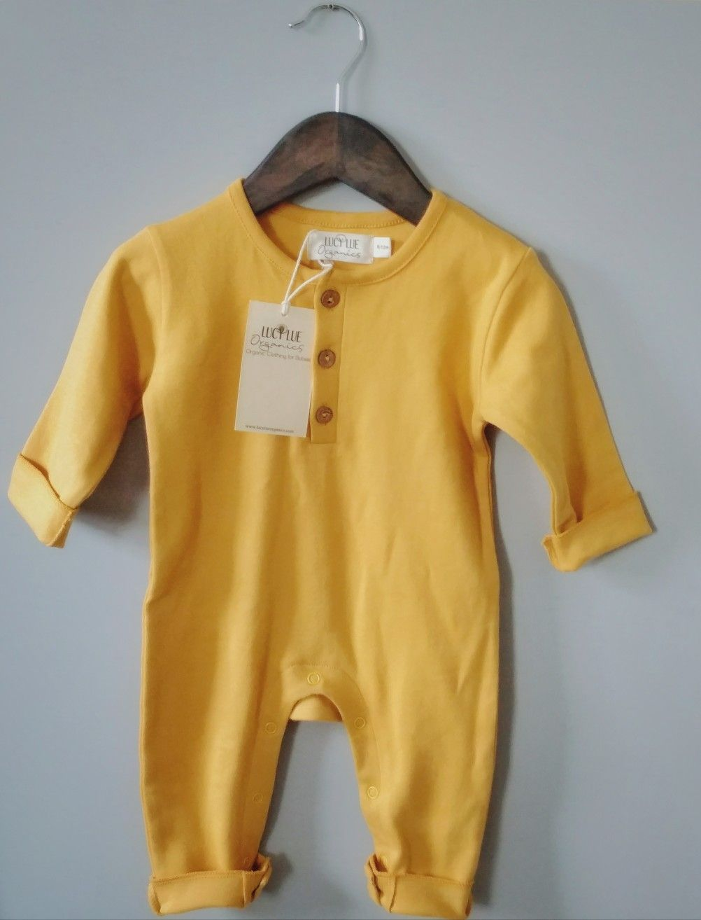 c141b2146 100% organic cotton romper by Lucy Lue Organics. Made of the softest ...