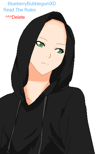 Base 12: Male Hoodie ... by BlueberryBubblegumXD ...
